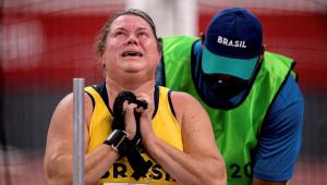 Beth Gomes levou o ouro e bater o recorde mundial no lançamento de disco nas Paralimpíadas de Tóquio