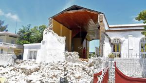 Terremoto deixou rastro de destruição no Haiti