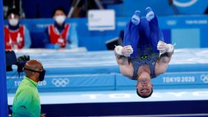 Arthur Zanetti falhou na final das argolas na Tóquio-2020