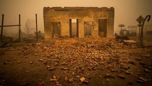 Incêndio Califórnia Greenville