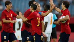 Seleção espanhola olímpica fará a final da Tóquio-2020 com o Brasil