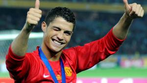 Cristiano está de volta ao Manchester United após 12 anos