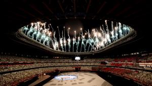A cerimônia de abertura das Paralimpíadas teve paz e inclusão como temas