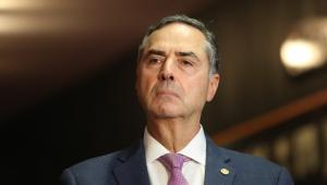 O presidente do TSE, ministro Luís Roberto Barroso