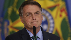 Presidente Jair Bolsonaro em evento