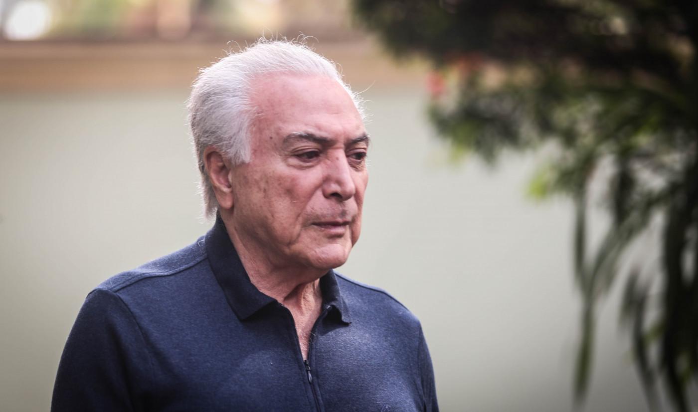 Ex-presidente Michel Temer, aos 80 anos