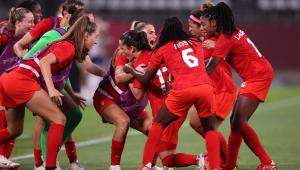 A seleção canadense feminina vence os EUA por 1 a 0 e avançou à final da Tóquio-2020