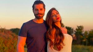 Alok e sua esposa Romana Novais