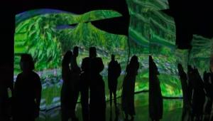 Imagem da exposição internativa 'Paisagens Impressionistas de Monet'