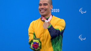 Daniel Dias ganhou sua 25ª medalha paralímpica na Tóquio-2020