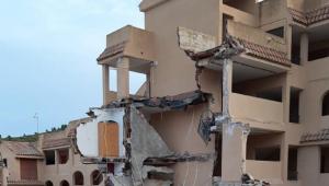 escombros de prédio que desabou na espanha