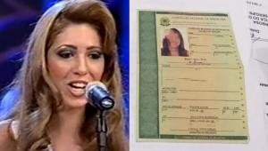 Montagem com Paloma Vieira de Melo no Miss Brasil e documento apreendido pela polícia