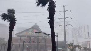 Tempestade no Estado da Louisiana, nos Estados Unidos