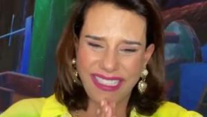 Narcisa Tamborindeguy durante a live com Maitê Proença