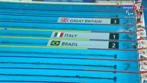 natação paralímpica