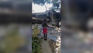 Imagens mostram destruição após terremoto no Haiti