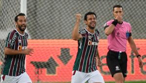 Fred; Fluminense x Cerro Porteño
