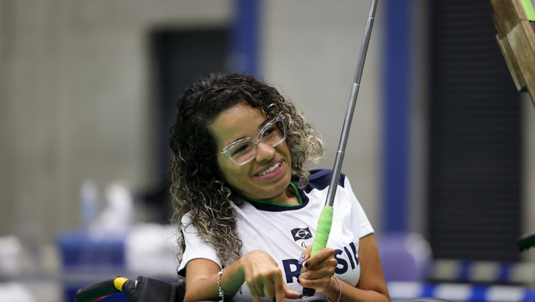 Evelyn é esperança de medalha para o Brasil na bocha paralímpica