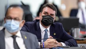 senador Jorginho Mello (PL-SC); senador Flávio Bolsonaro (Patriota-RJ).