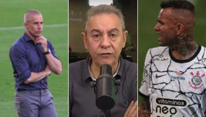 Flavio Prado revelou conversa exclusiva com Sylvinho após vitória do Corinthians no Brasileirão