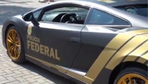 Polícia Federal vai usar Lamborghini no valor de R$ 800 mil