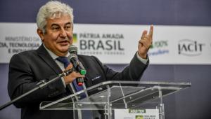 Ministro da Ciência, Tecnologia e Inovações, Marcos Pontes, participa da cerimônia