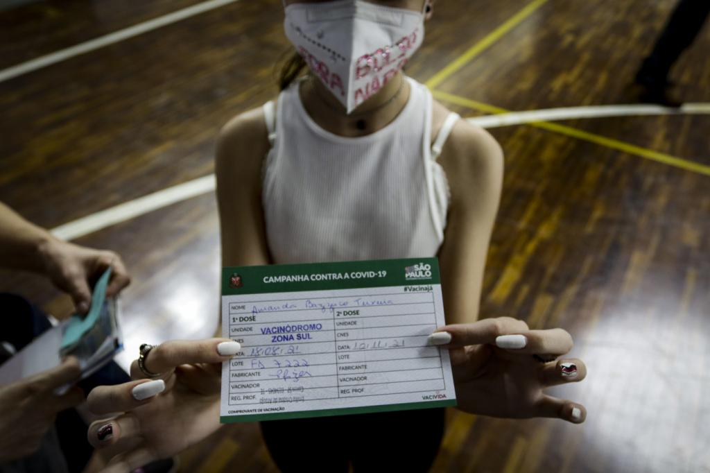 Passaporte Da Vacina E Necessario Porque A Prioridade E A Saude Coletiva Nao A Vontade Individual Jovem Pan