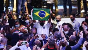 João Doria recebe apoio de autoridades durante encontro do PSDB