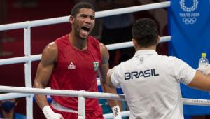 Hebert Conceição está na semifinal do boze até 75 kg nos Jogos de Tóquio