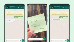 Novo recurso de visualização única de arquivos no WhatsApp