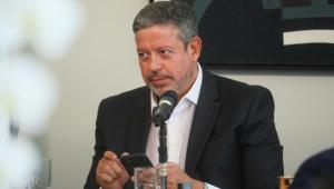 Presidente da Câmara, Arthur Lira, participa de reunião com líderes