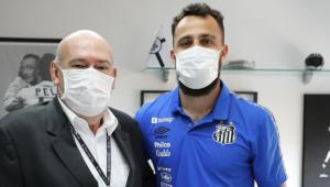 Jandrei é o novo goleiro do Santos