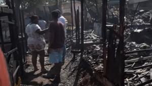incêndio em favela em sp