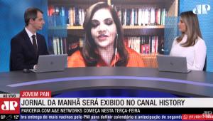 Thiago Uberreich e Adriana Reid entrevistam Denise Campos de Toledo