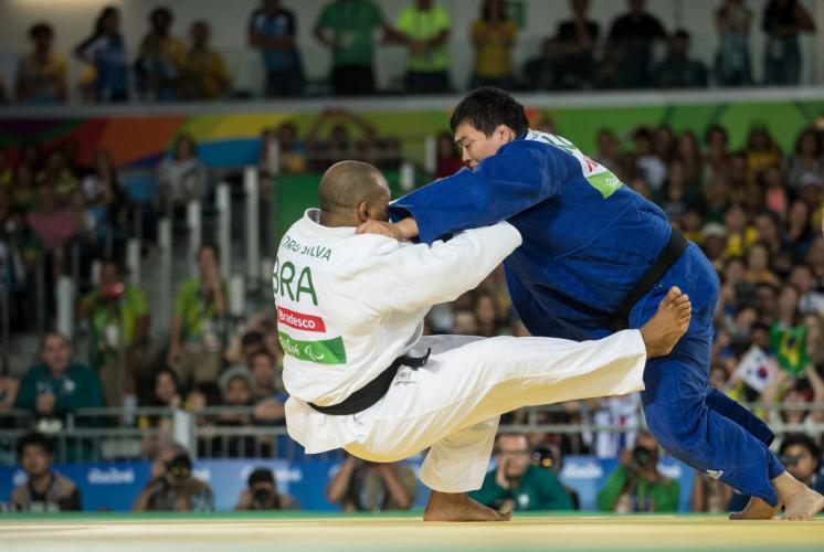 O Brasil é uma das potências no judô paralímpico