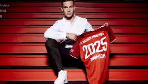 Bayern de Munique renovou com Joshua Kimmich até 205