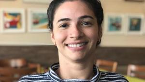 A ex-ginasta Lais Souza, 32 anos