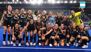 A seleção argentina feminina de hóquei sobre a grama está na final dos Jogos de Tóquio