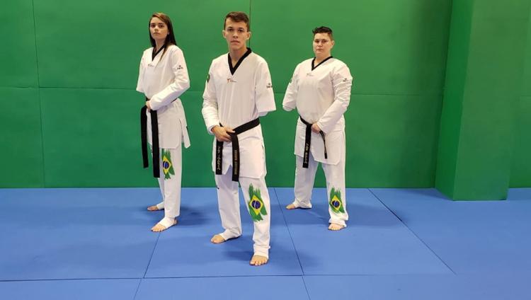 O Brasil terá 3 representantes no parataekwondo