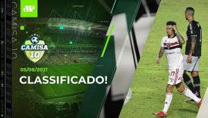 São Paulo BATE o Vasco e está nas QUARTAS da Copa do Brasil! | CAMISA 10 - 05/08/21