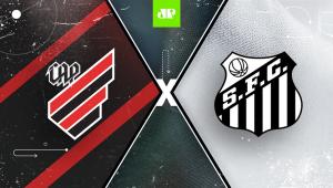 Athletico-PR x Santos