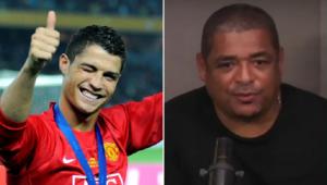 Vampeta projetou mais uma trajetória de sucesso de Cristiano Ronaldo no Manchester United