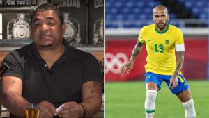 Vampeta criticou Daniel Alves por declarações contra o São Paulo
