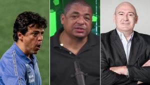 Vampeta revelou bastidores do Santos envolvendo uma possível demissão de Diniz
