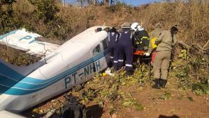 Queda de avião no Mato Grosso sem combustível