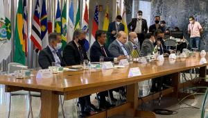 Gestores estaduais em reunião