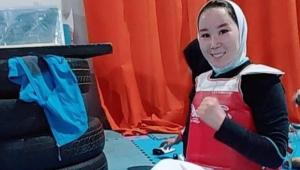 Zakia Khudadadi seria uma das representantes do Afeganistão nas Paralimpíadas de Tóquio
