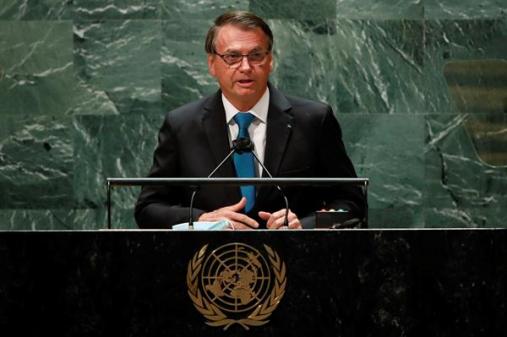 Na ONU, Bolsonaro fala em preservação ambiental e defende vacinação contra a Covid-19