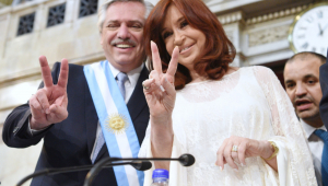 Alberto Fernandez e Cristina Kirchner
