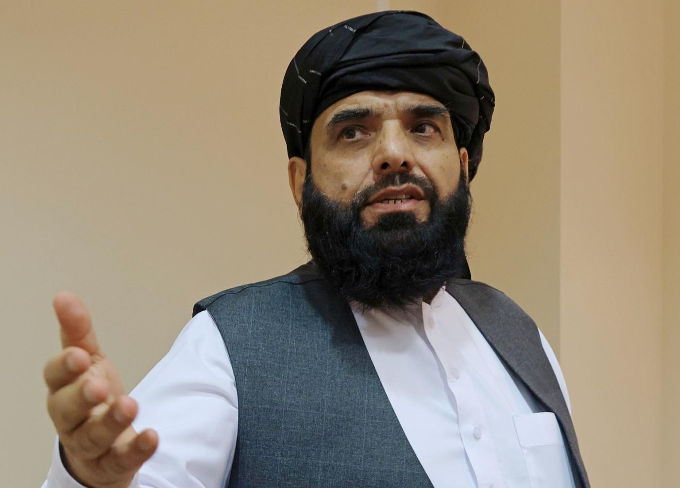 Suhail Shaheen, porta-voz do talibã